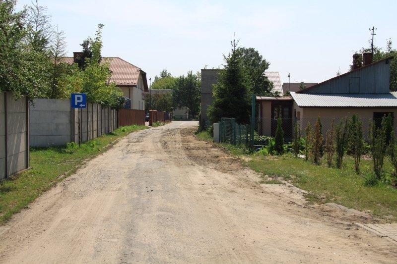 Przebudowa ul. Leśki.