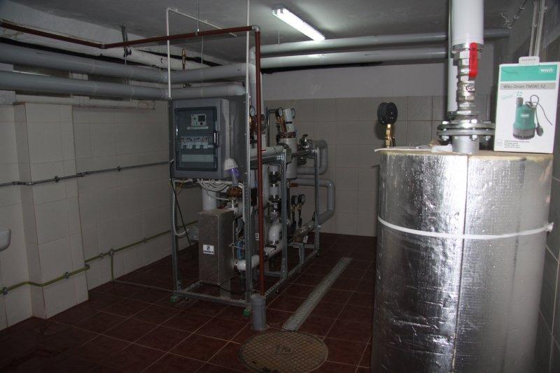 Budowa kompaktowego węzła cieplnego w budynku Miejskiego Przedszkola nr 4  i Żłobka na osiedlu Lotni