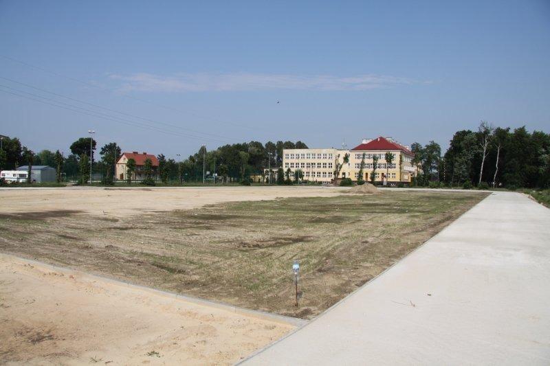 Budowa kompleksu sportowego w osiedlu Staszica.