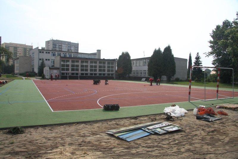 Budowa kompleksu sportowego w osiedlu Lotnisko.