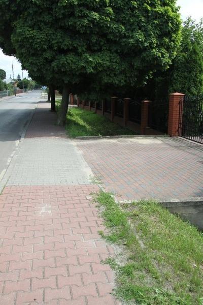 Modernizacja chodników w ul. Staromiejskiej, Partyzantów i Stawskiej.