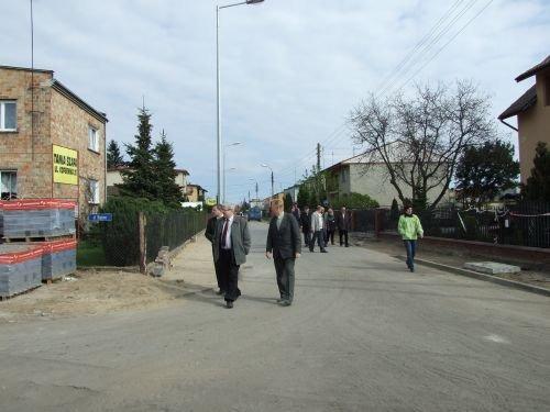 Modernizacja dróg na osiedlu Wiślana - Żwica w Dęblinie - I etap