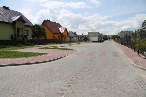 Przebudowa dróg na osiedlu Wiślana - Żwica w Dęblinie - II etap.