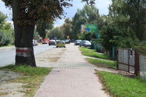 Modernizacja chodnika w ul. Stężyckiej.
