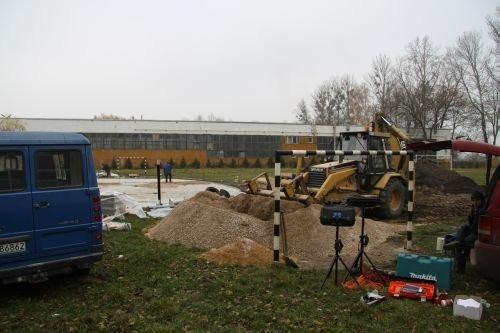 Budowa placu zabaw przy Zespole Szkół Nr 3.