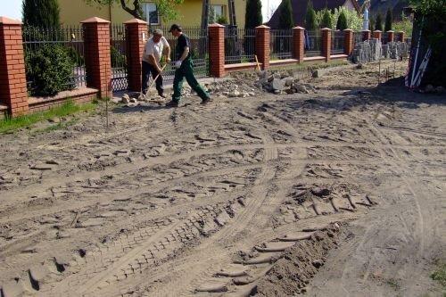 Modernizacja dróg w osiedlu Masów w Dęblinie.