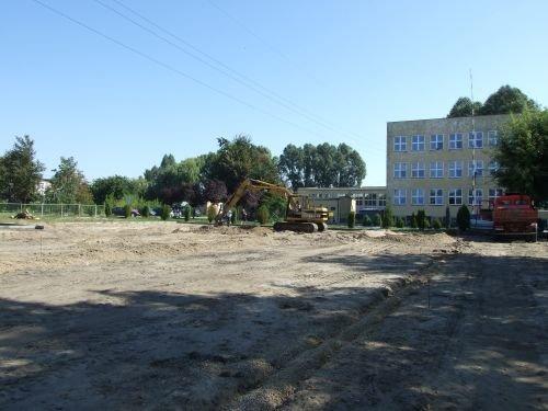 Budowa kompleksu sportowego w ramach programu Moje boisko - Orlik 2012