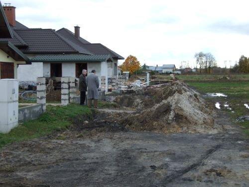 Budowa sieci wodociągowej w ul. Zygmunta Starego w Dęblinie.