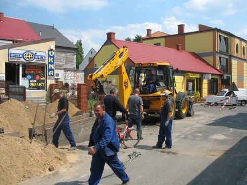 Budowa kanalizacji sanitarnej w osiedlu Bankowa - II etap.