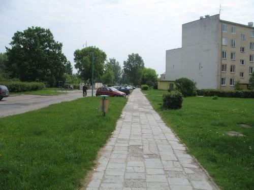 Budowa chodnika w os. 15 P. P. Wilków.