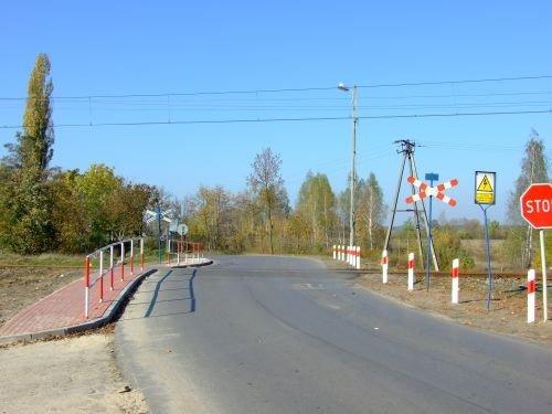 Modernizacja chodnika w ul. Tysiąclecia w Dęblinie.