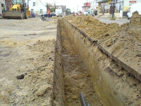 Budowa kanalizacji podciśnieniowej – zlewnia nr 1- I etap