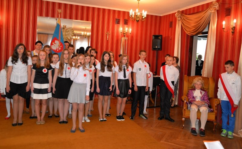 Relacja z obchodów 224. rocznicy uchwalenia Konstytucji 3 Maja w Dęblinie