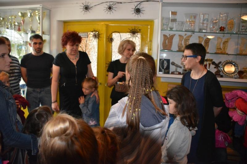 Otwarcie wystawy uczestników pracowni artystycznych MDK