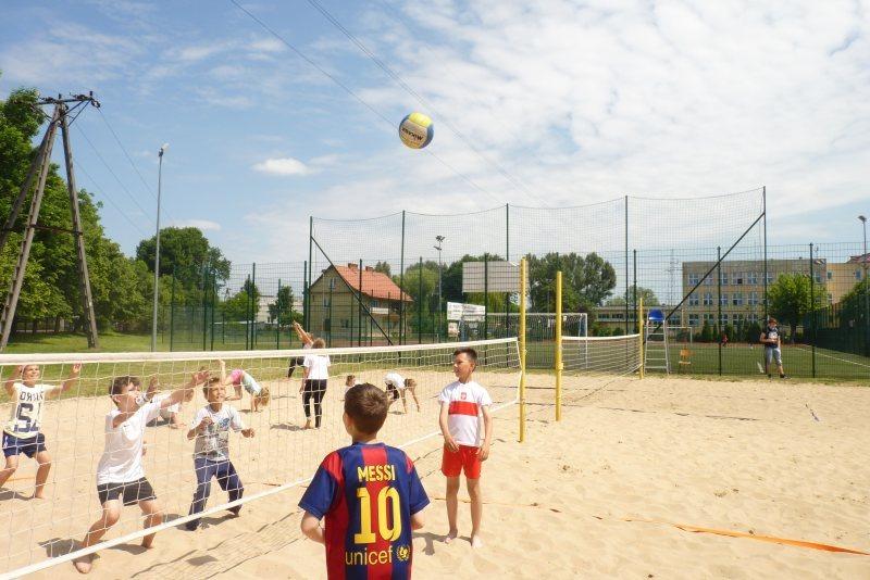 III Turniej Mini Siatkówki Plażowej
