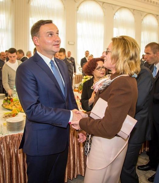 Prezydent Andrzej Duda w Dęblinie
