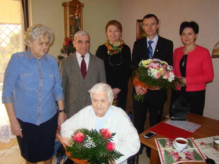 100 urodziny pani Władysławy Fałdyga