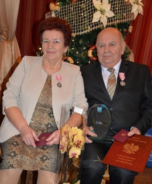 Teresa i Mieczysław Stańczak