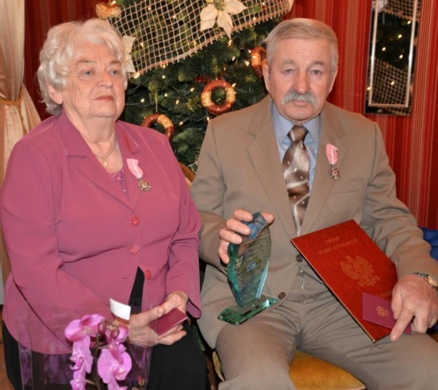 Anna i Zbigniew Olek