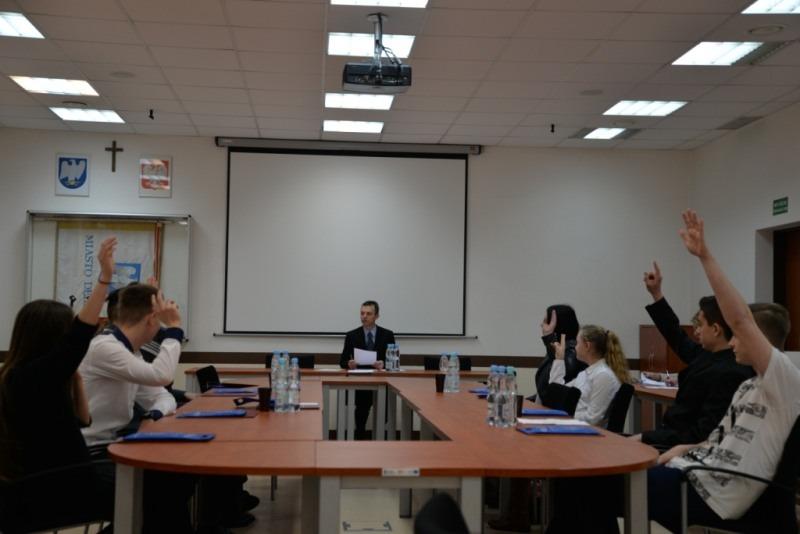 I sesja Młodzieżowej Rady Miasta Dęblin