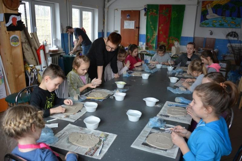 Warsztaty ceramiczne - Płaskorzeźba
