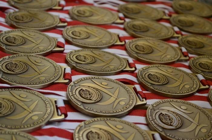 Medale zawodów