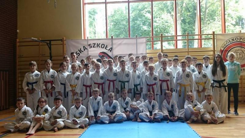 Drużyna Dęblińskiej Szkoły Taekwon-do