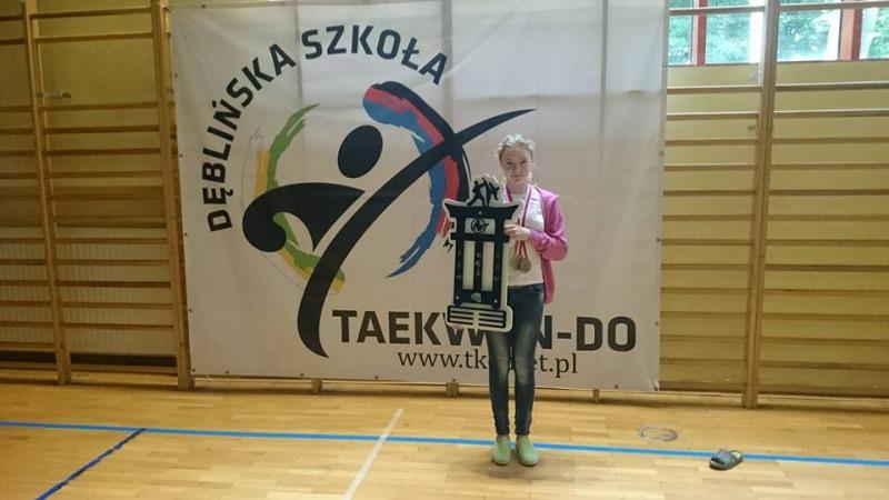 Najlepsza Zawodniczka Turnieju - Anastazja Jędrych