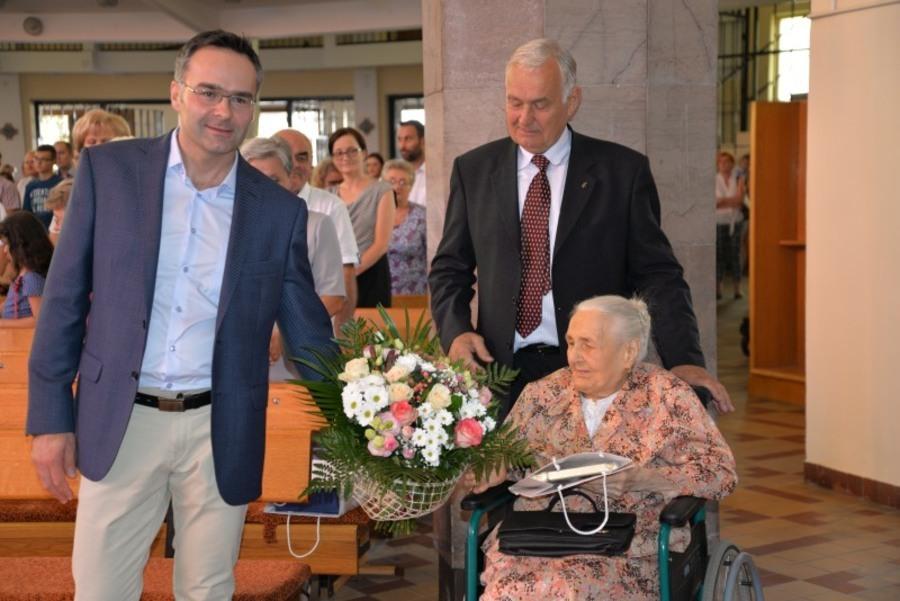 100 lat Pani Kazimiery Wiraszka