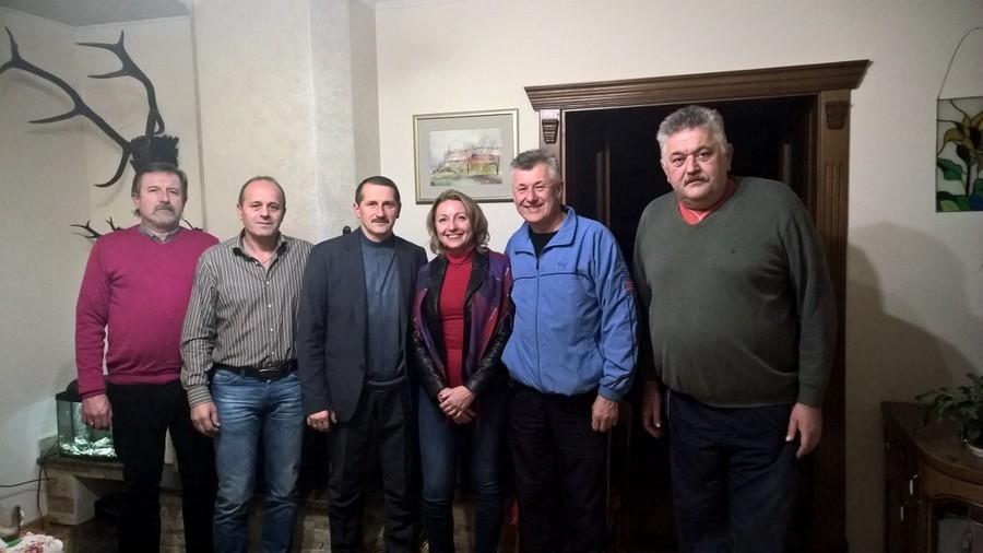 Burmistrz Beata Siedlecka z wizytą w Drohobyczu