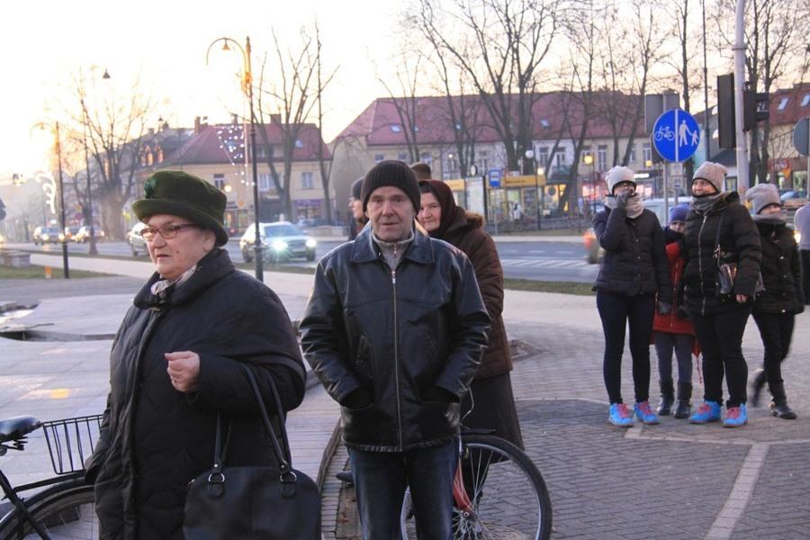 Spotkanie wigilijne z mieszkańcami Dęblina.