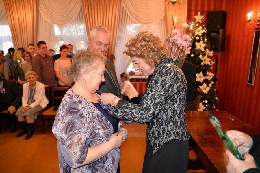 Uroczystość z okazji 50-lecia pożycia małżeńskiego