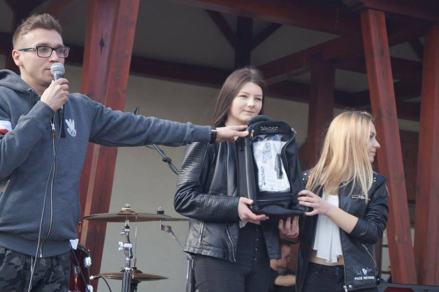 Motocyklowa aukcja dla Kajtka. Zebrali 5 tys. złotych!