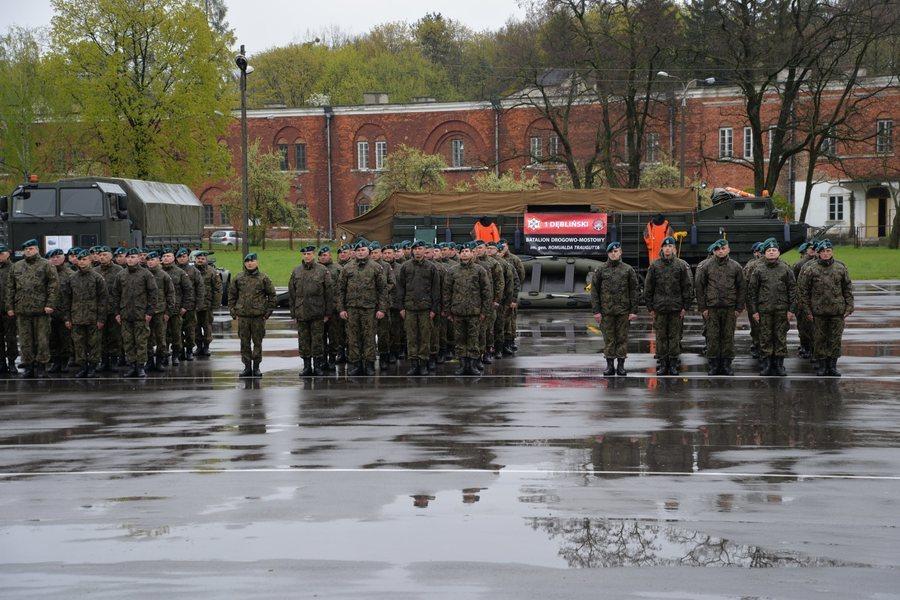 Święto 1.Dęblińskiego Batalionu Drogowo-Mostowego