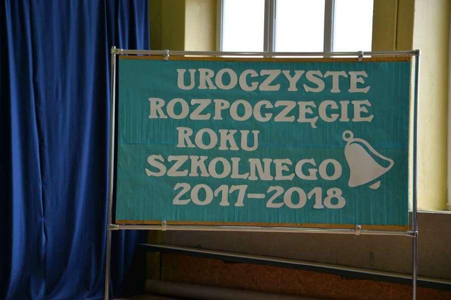 Rozpoczęcie roku szkolnego 2017