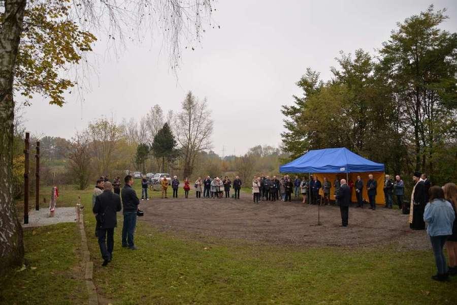 Uoczystość symbolicznego upamiętnienia jeńców - żołnierzy Armii Czerwonej zamordowanych i zmarłych