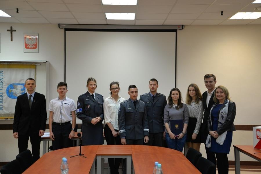 I sesja II kadencji Młodzieżowej Rady Miasta w Dęblinie