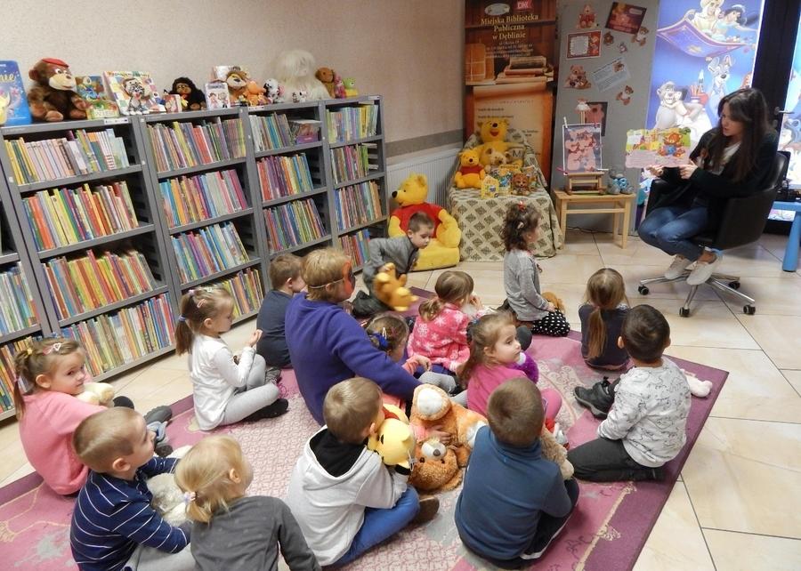 Dzień Pluszowego Misia w Bibliotece