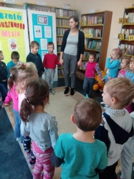 Misiowy uścisk dla wszystkich dzieci!