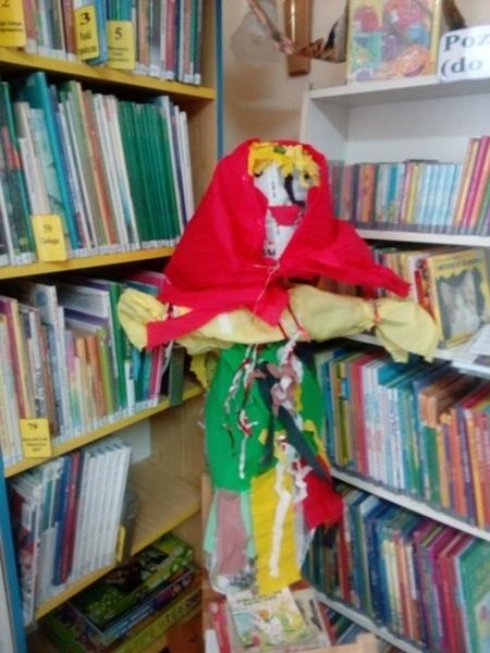 Wiosna w bibliotece