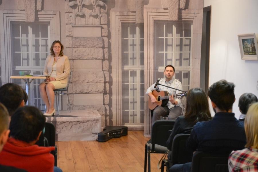 22. marca w galerii MDK odbyło się spotkanie autorskie z poetką Izabelą Zubko