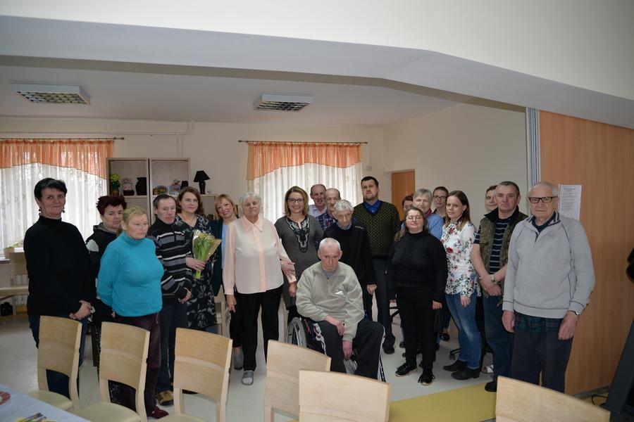 Burmistrz Miasta Dęblin w DPS-ie
