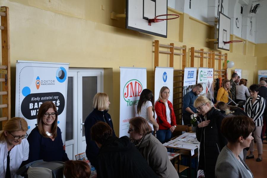 Powiatowe Targi Edukacji i Pracy w Dęblinie