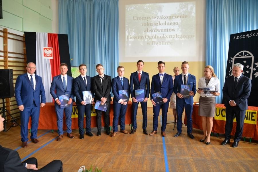 Pożegnanie absolwentów LICEUM OGÓLNOKSZTAŁCĄCEGO Anno Domini 2018