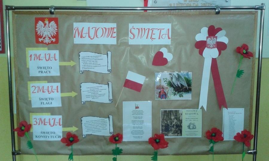 Majowe Święta w naszej szkole