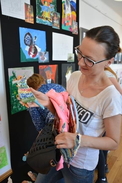 Wystawa pracowni plastycznej w MDK