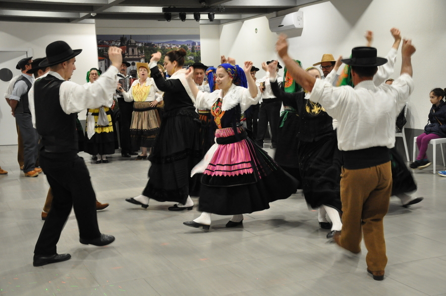 Warsztaty z portugalskiej muzyki i tańca - praktyki zagraniczne uczniów ZSZ nr 2 w Dęblinie