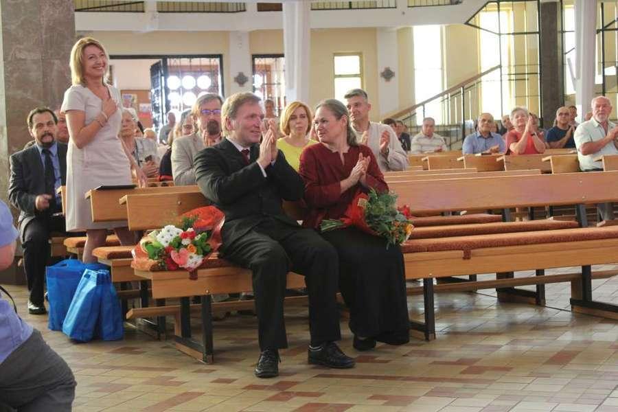 Ostatni koncert IV Międzynarodowego spotkania z Muzyka Organową w Dęblinie