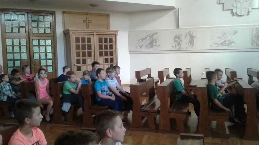 Wycieczka uczniów SP nr 5 do Siedlec
