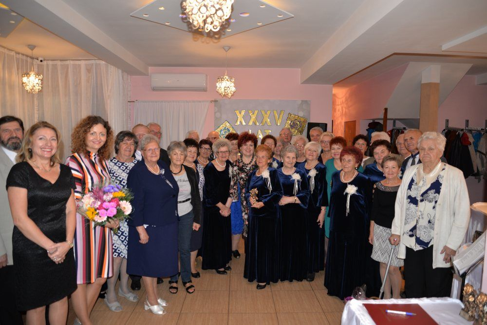 """35 – lecie Klubu Seniora """"Jesienna Róża"""""""
